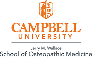Campbell University School of Osteopathic Medicine logo