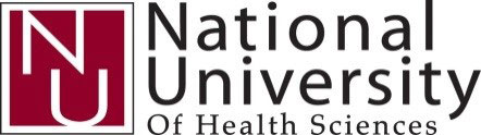 National University of Health Sciences logo
